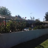 Wrought Iron Fence, Brentwood